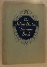 SILENT HOSTESS TREASURE BOOK BY GENERAL ELECTRIC COMPANY GE 1930 SPRINGFIELD IL
