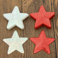 10Pcs Star Sequin Patch DIY Applique Craft Embroidery Sew On White Coat Pattern