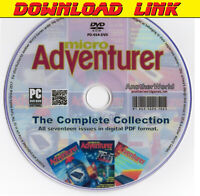 MICRO ADVENTURER MAGAZINE Full Run DOWNLOAD Oric/Spectrum/Dragon/Apple II Games