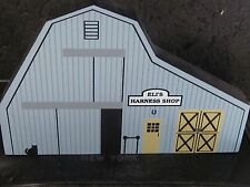 Cat's Meow Ohio Amish Series 1991 Eli'S Harness Shop Retired 1998 New