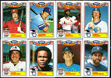 "1984 TOPPS COMMEMORATIVE ""1983 ALL-STAR GAME"" GLOSSY INSERT BASEBALL CARD SET"