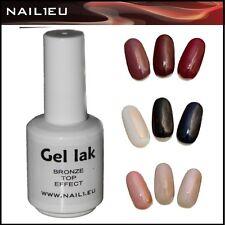 Polish-Gel BRONZE TOP 7ml UV Nagellack Gellack Polish Gel Lack Gel-Lack Nagelgel