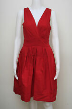 BRAND NEW WITH TAG $325 SIZE: 4 M LACQUER RED COLOR COCKTAIL DRESS DKNY