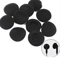 12 Pairs 20mm Replacement HeadPhone Headset EarPhone Foam Sponge Ear Pad Coverfw