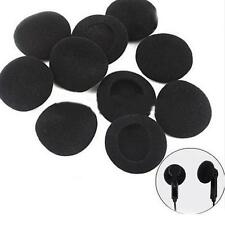 24 PCS Soft Black Sponge Foam for Headphones Earphone Cover Ear Pad New JC