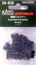 Kato N Unitrack Insulated Unijoiners 20pc Kat24816