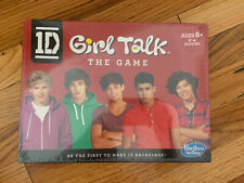 Hasbro 1D One Direction Girl Talk The Game Board Card Play 2012 NEW, SEALED