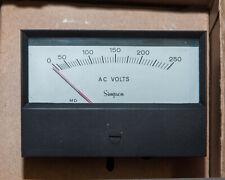 SIMPSON METER, MODEL 553 0-250 AC VOLTS