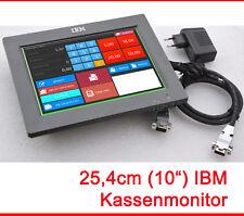 """10""""MINI IBM POS MONITOR 800x600 MIT 4820-1FR 12V NETZ SPARSAM BRAUCHT 8 W M76 MM"""