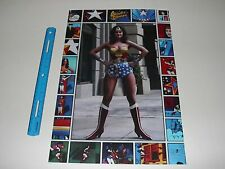 Dc Comics Wonder Woman Tv Series Linda Carter Poster Pin Up New