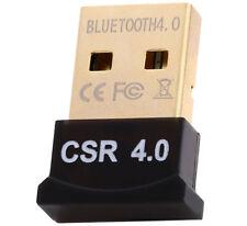 Mini USB Bluetooth 4.0 Adaptateur CSR Dongle sans fil EDR pour PC, ORDINATEUR PORTABLE