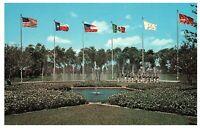 Star Mall & Dancing Waters Six Flags Texas Dallas Fort Worth Postcard