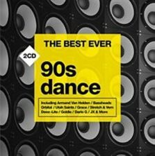 The Best Ever 90s Dance Various Artists Audio CD