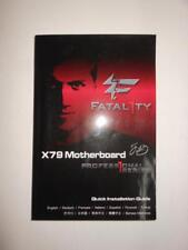 AsRock Fatal1ty X79 Professional Lga2011 mb Installation Guide Book, User Manual