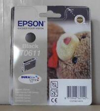 Epson t0611 tinta Black para d68 d88 dx3800 dx4200 dx4800 c13t06114010 OVP