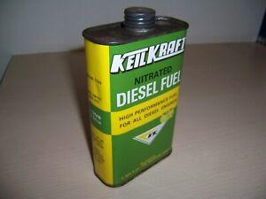 Keil Kraft Nitrated Diesel Fuel Can KeilKraft Model Diesel Engines