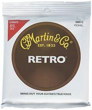 Martin MM12 Retro Monel Acoustic Guitar Strings - Light 12-54