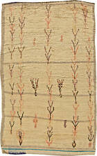 Tribal Moroccan Rug in Cream, Beige, Rust, Black and Blue BB5785
