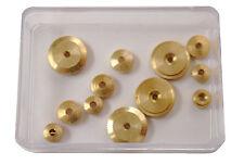 12pc. New Hermle Clock Movement Hand Nut Assortment Parts (HW-49)