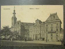 cpa pologne poland warszawa varsovie rathaus ratusz