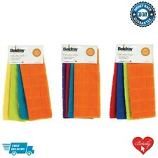 Beldray Microfiber Cleaning Cloths High Quality Dusting Washable & Reusable- 4pc