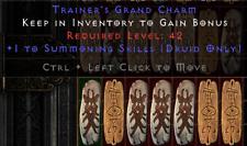 Diablo 2 Resurrected (D2R) Battle.net (PC) Druid Summon Skill Charm / Skiller