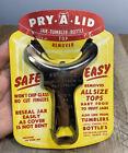 Vintage NOS Pry-A-Lid Mason Jar Opener Tumbler Bottle Lid Top Remover Utensil