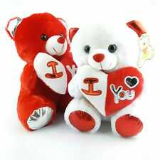 Teddy bear with a heart a gift for Valentine's Day