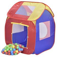Spielzelt Pop Up Bällebad Spielhaus Bällehaus Kinder Zelt Set 200 Bälle + Tasche