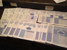 "Lot 23 ""The Blue Badge"" Combat Infantrymen's Association Newsletter 2003-2009"