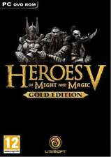 Heroes of Might and Magic V 5 Gold Edition -  PC - Brand New & Factory Sealed