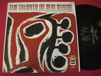 JAZZ LP - THE TALENTS OF BUD SHANK (1963) KIMBERLY JAZZ SERIES 2025 MONO