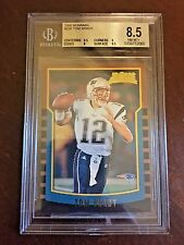 2000 Bowman #236 Tom Brady BGS 8.5 NM-MT+ Patriots Rookie Card
