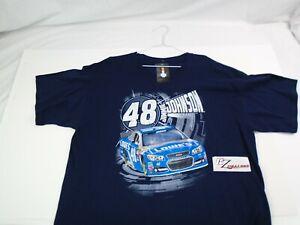 Jimmie Johnson #48 Large T-Shirt Hendrick Motorsports NASCAR Racing