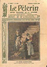 Crise de la Sardine Pêche Pêcheurs de Concarneau Bretagne 1913 ILLUSTRATION