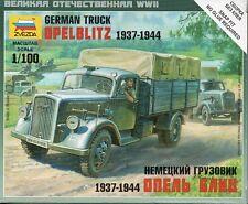 Zvezda 1/100 Opel Blitz German Truck 1937-1944 Z6126