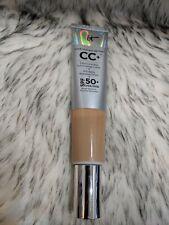 IT COSMETICS CC+ COLOR CORRECTING CREAM foundation SPF50 MEDIUM 2.53 NWOB