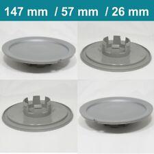 Alloy wheel center caps centre rim plastic 4x hub cap audi vw 147 mm 57 mm 26 mm