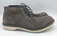 G Star Originals Raw Gray Suede Chukka Boots Mens Size 42 US 9
