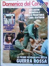 La Domenica del Corriere 7 Marzo 1979 Nereo Rocco Rivera Beruschi Zero Corrado