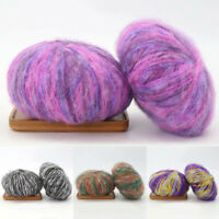 Mohair Cashmere Thread Shawl Wool Yarn Scarf Colorful Yarn Hand Knitting Crochet