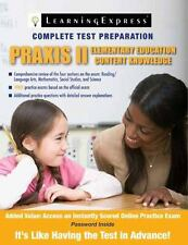 Praxis II: Elementary Education Content Knowledge ( Russell Kahn ) Used -