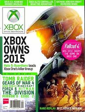 Official XBOX Magazine September 2015 Halo 5: Guardians Tomb Raider Forza 6