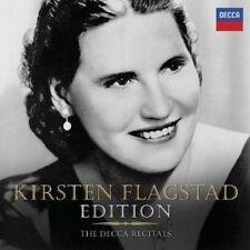 KIRSTEN FLAGSTAD - THE DECCA RECITALS 10 CD NEW+ WAGNER/BRAHMS/WOLF/BACH