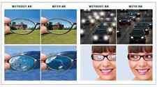 1 Pair Super High Index 1.67 Finished Power Eyeglass Anti-Reflective AR Lens HMC