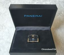 Genuine OEM Officine Panerai 18mm Polished Stainless Steel Ardillion...