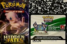 Mew Pin Coll HIDDEN FATES Pokemon Online Codes Lot DELIVERY BY EBay Msg PTCGO