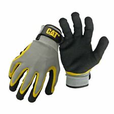 New Caterpillar Latex Double Coated String Knit Work Garden Safety Glove