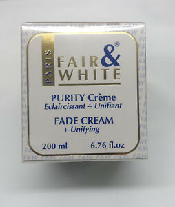 FAIR AND WHITE PURITY FADE CREAM 200ML  :Uk Seller :Quick Dispatch