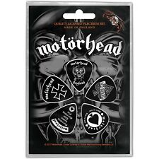 Official Licensed Merch 5-PLECTRUM PACK 1mm Guitar Picks MOTORHEAD England
